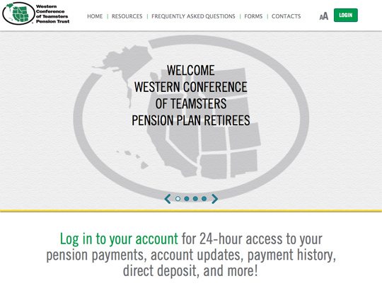 Website for Retirees & Beneficiaries | The Western